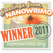 Winner NaNoWriMo 2011