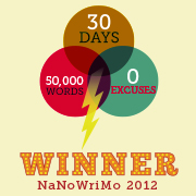 Winner of NaNoWriMo 2012